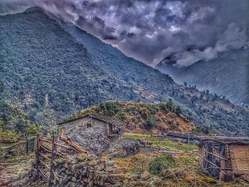 annapurnabasecamp annapurnatrek nepal abctrek chhomrong