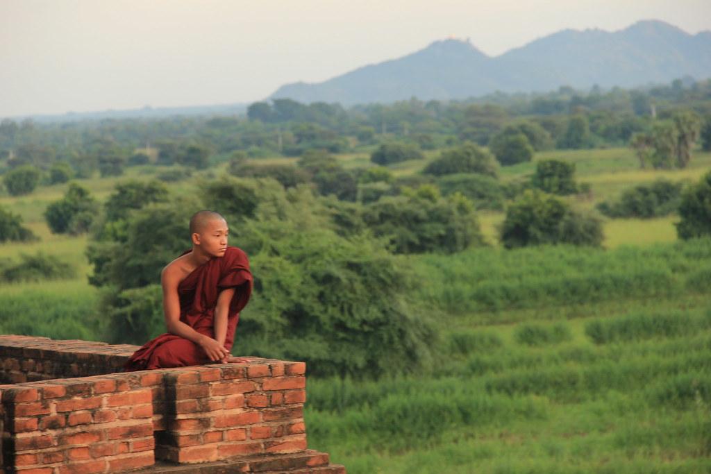 Monk at Pyathadar Hpaya