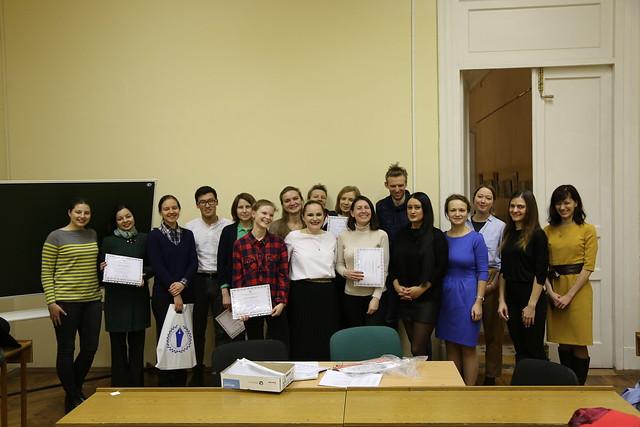 Завершился межфакультетский курс «Мастерская научной журналистики»