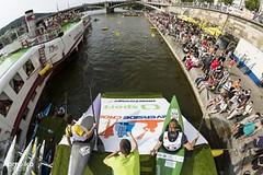 Riverside Cross 2015: vodní slalom s biatlonem baví diváky i závodníky