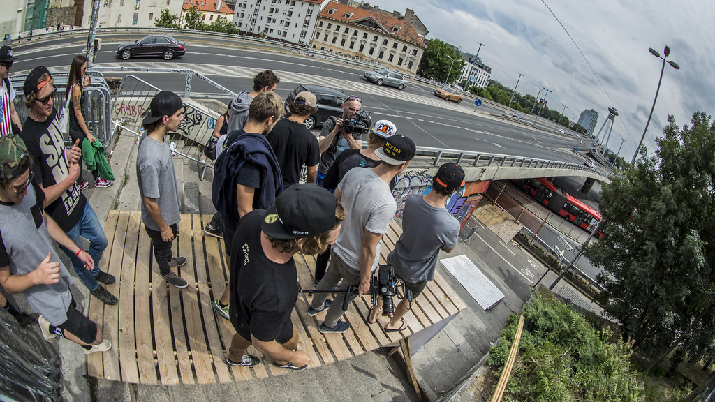 Блог им. IvanKunaev: City Downhill Bratislava