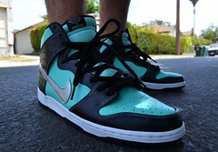 2014 Nike SB Diamond Supply Dunk Hi