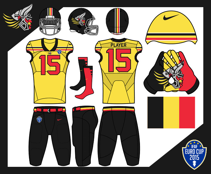 2015 ifaf euro cup group a day one concepts chris