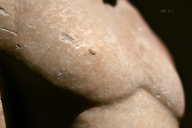 Kouros from the National Archaeological Museum (artificial light, Oct 2014)