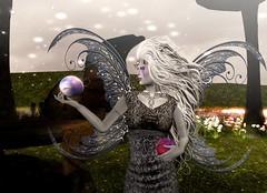Winter Queen With the Skies In Her Hands