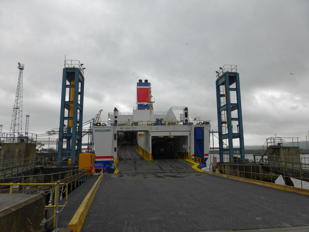 Approaching Stena Mersey at Belfast's Victoria Terminal 2