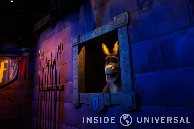 Shrek 4D Debuts Shorter Preshow with Interactive Donkey