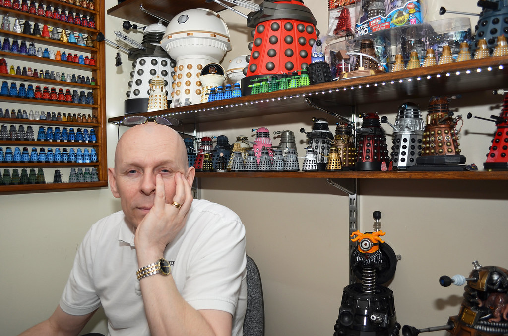 Rob Hull World Record Holder For Most Dalekss Most Interesting - 10 weirdest collections world