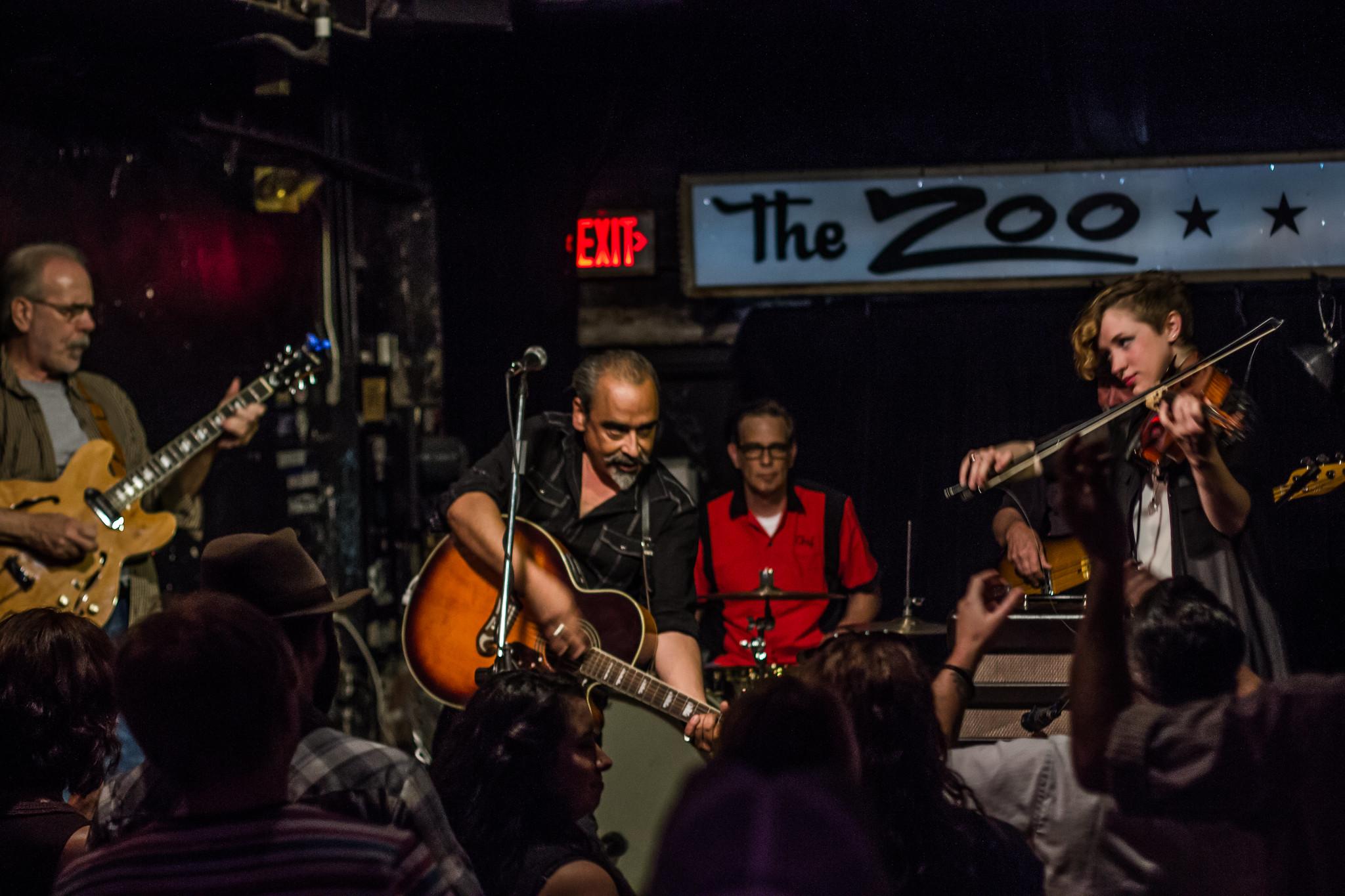 Gerardo Meza Band | Zoo Bar | 7.30.15