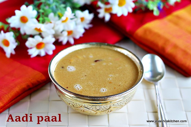 Coconut milk payasam