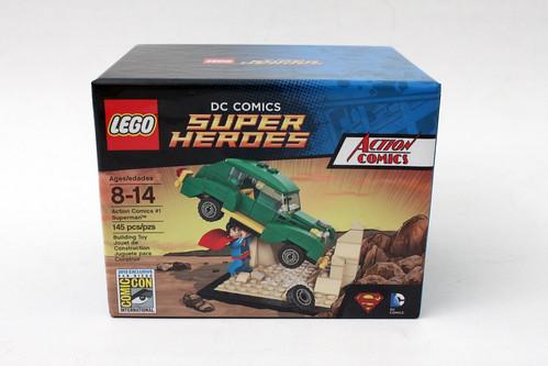 Lego Dc Comics Super Heroes Sdcc 2015 Exclusive Action Comics 1