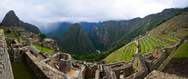 Espectacular panorámica de Machu Picchu