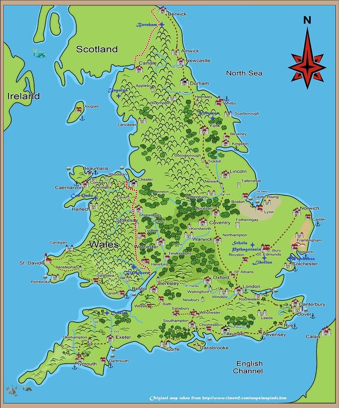 Stonehenge map