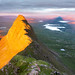 Two Mountains - Suilven and Shadow by svensl