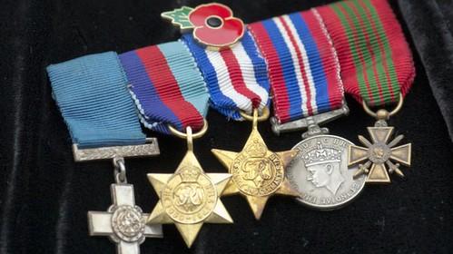 Violette Szabo medals