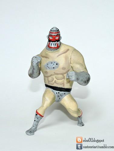 luchador de juguete