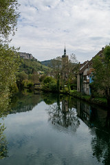 River reflection - Photo of Palantine