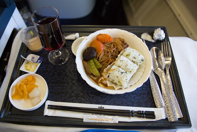 KLM Business Class NRT to AMS - GVA #ユーレイル
