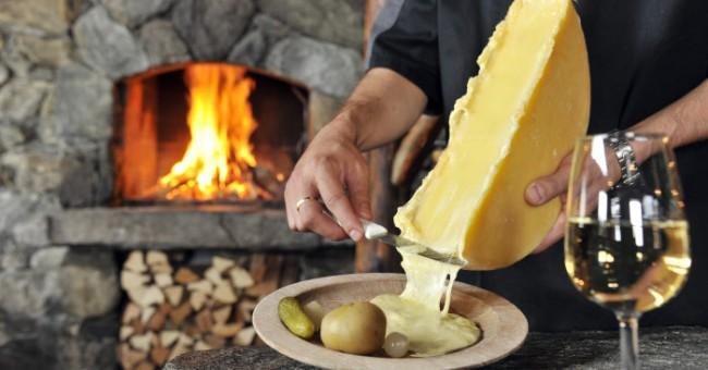 Švýcarsko v Bratislavě - Raclette u Lanovky