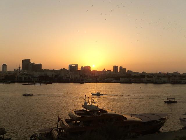 Dubai. Sunset. ©UdoSm, Fujifilm FinePix F550EXR