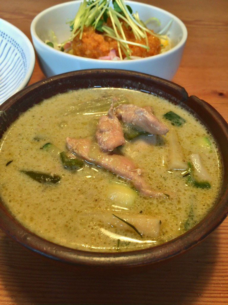 Green curry at Blue bird, Mitaka