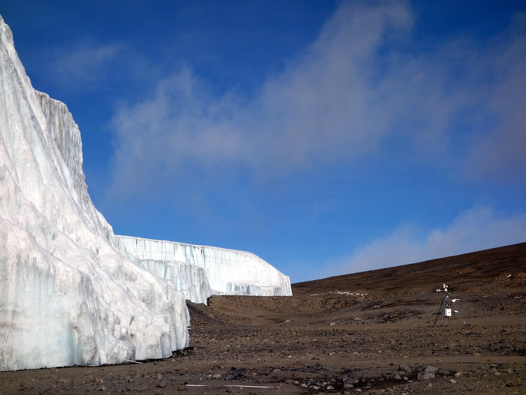 Scientific instruments measuring the Northern Icefield