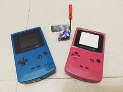 It's time to work on this little guy :video_game::space_invader: #nintendo #gameboy #gameboycolor #retrogamer #retro
