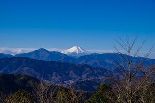 富士山@高尾山頂