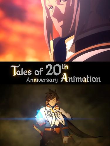 150608(2) -『時空幻境』20週年紀念動畫《Tales of 20th Anniversary Animation》宣布2016年開播!