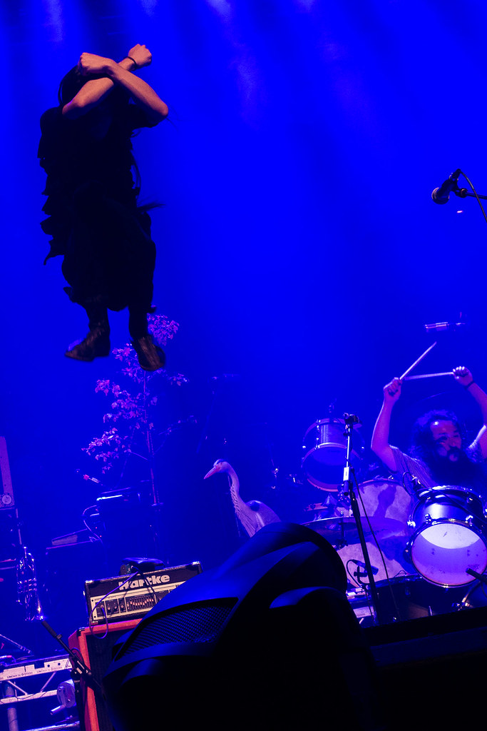 Bo Ningen supporting British Sea Power at the Roundhouse