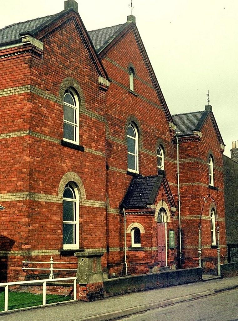 Horncastle. Queen Street. Methodist Church (old)
