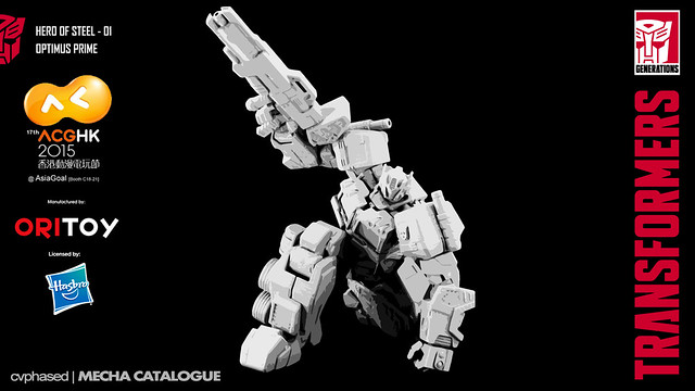 Ori Toy - TRANSFORMERS Hero of Steel #01 Optimus Prime