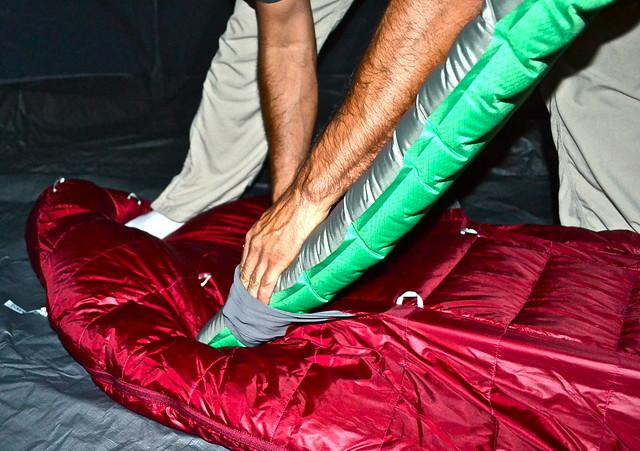 inflatable mattress - therm-a-rest women's down sleeping bag