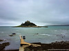 St Michael's Mount from Marazion with the tide in