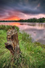 Stumped || YARRAMUNDI SUNSET || NEPEAN RIVER by rhyspope