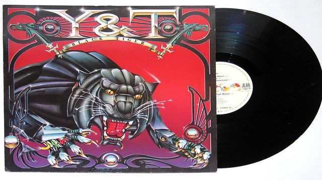 "Y&T Black Tiger 12"" Vinyl LP"