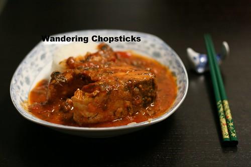 Ca Kho Sot Ca Chua Thi La (Vietnamese Braised Fish with Tomato Dill Sauce) 2
