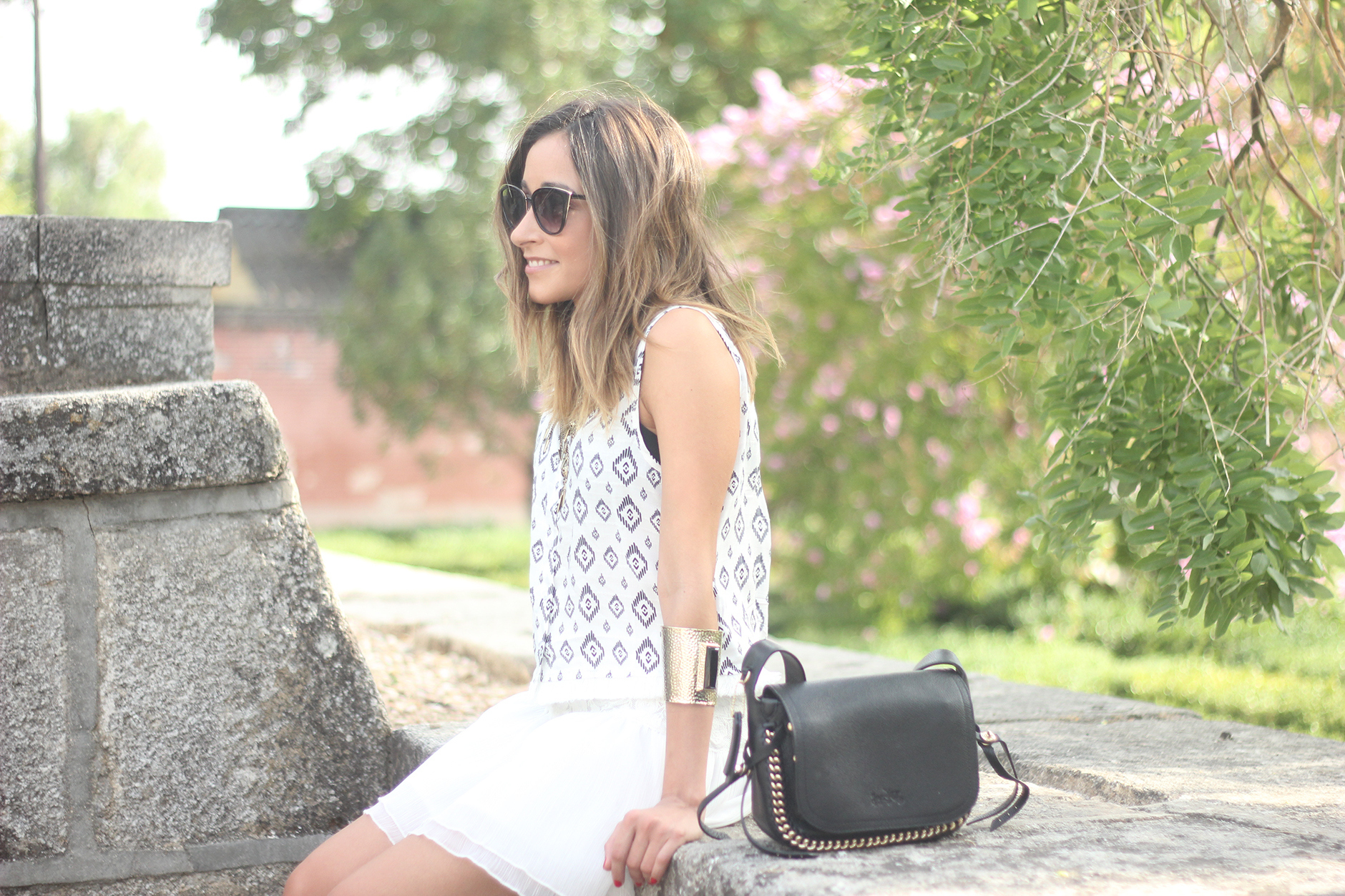 Black & White Summer Outfit Mango02