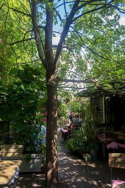 Garden at Weranda Caffe & Ristorante