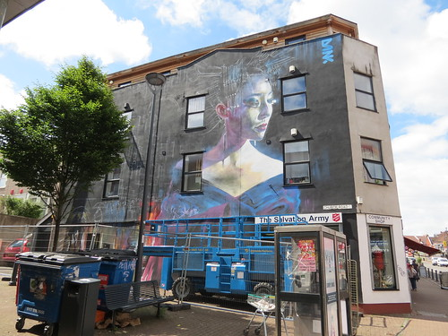 Upfest: Dan Kitchener (DANK) - 'The Spirit Of Tokyo' - East Street / Church Road, Bristol