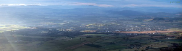 Inverurie & Distant Cairngorms