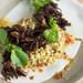 Burdock & Co - Crispy Oxtail – Farro Verde, Green Fennel Seed Jus 1
