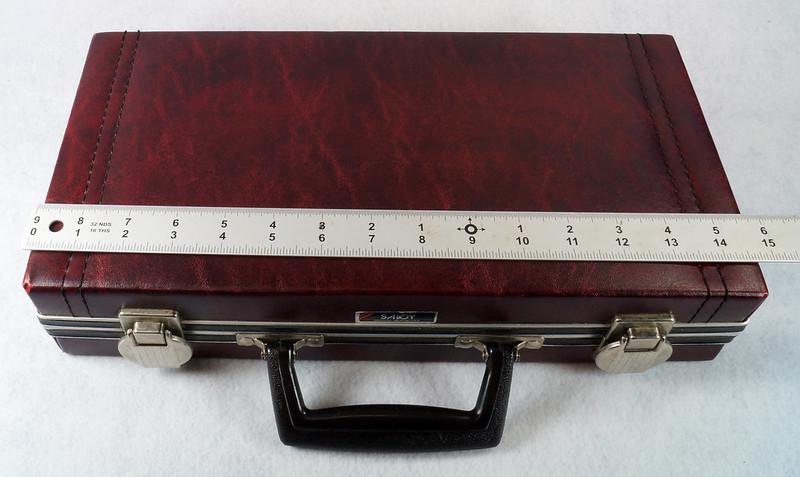 RD12878 Vintage Savoy 24 Cassette Tape Case Haverhill, MA with Bonus Tapes DSC08096