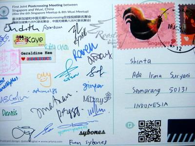 Postcrossing Int'l Joint Meetup, Sony DSC-T100