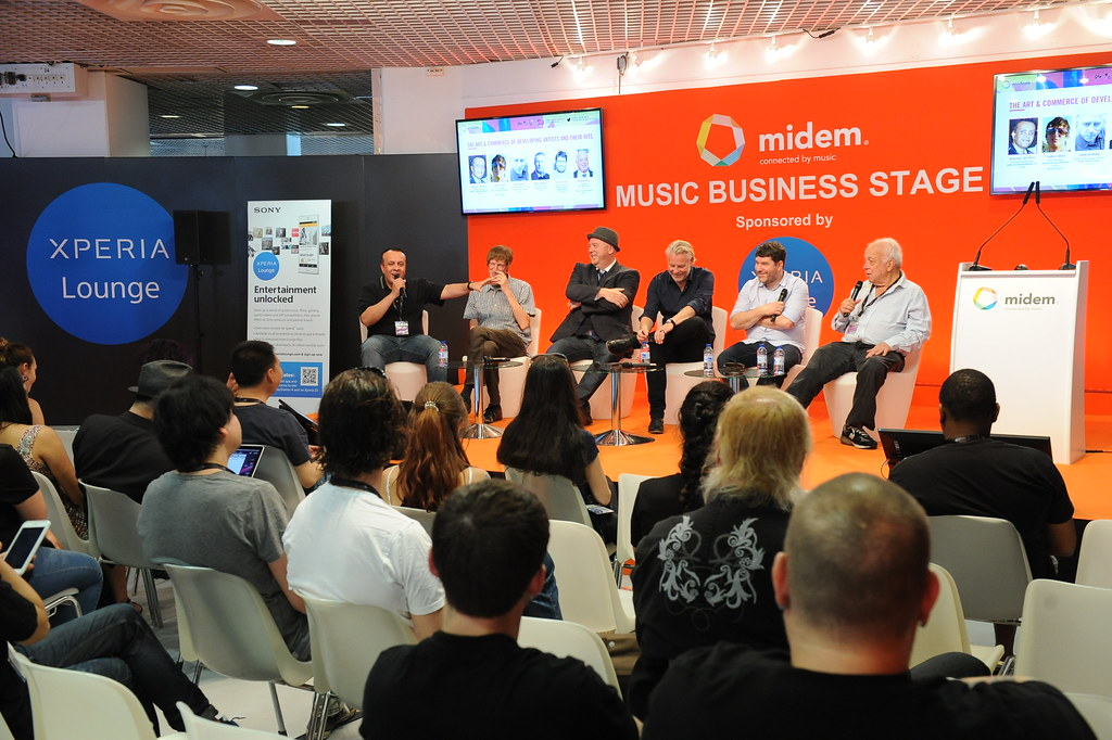 MIDEM 2015 - CONFERENCES - PANEL DISCUSSION - THE ART & CO