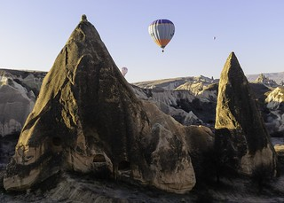 Baloon fly at Capadocia, Turkey
