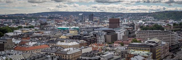 Oslo Skyline I