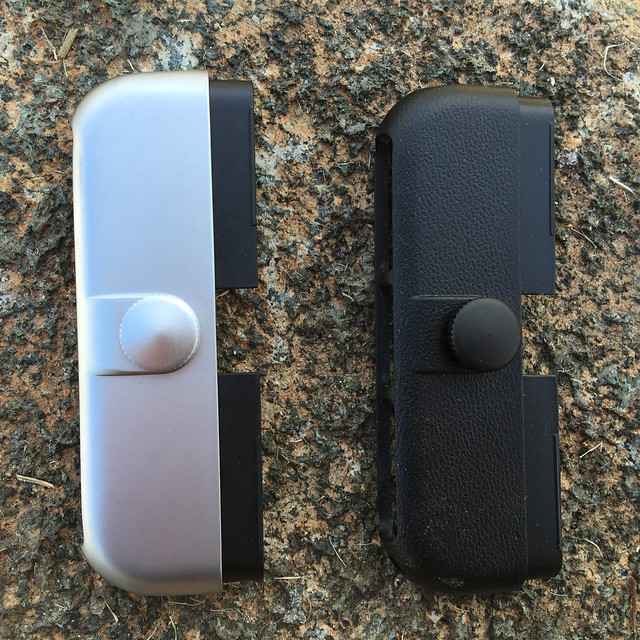 Two different Ztylus case ends