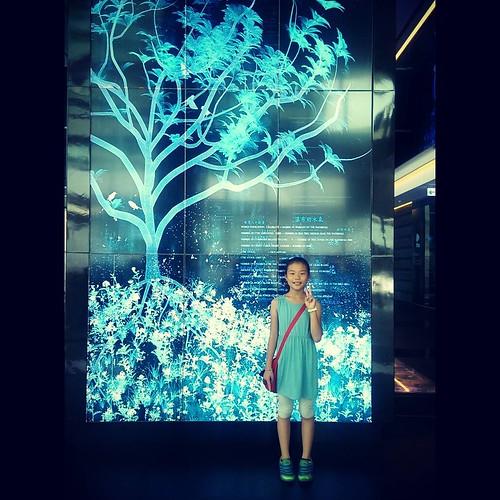 20150707 有拖油瓶的台北半日遊 拖油瓶說她很開心  #林潔咪  #媽媽最無奈的暑假