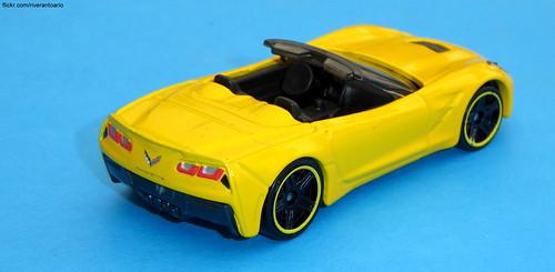 Hot Wheels Chevrolet Corvette C7 Convertible